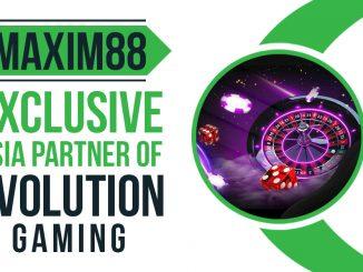 Partnership between Evolution Gaming and Maxim88